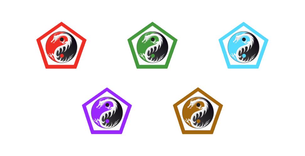 intermediate module kung fu living logos - learn kung fu online
