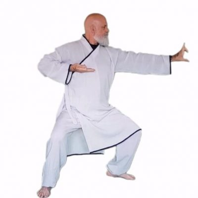 man doing chi kung archer in kung fu living video - learn kung fu online