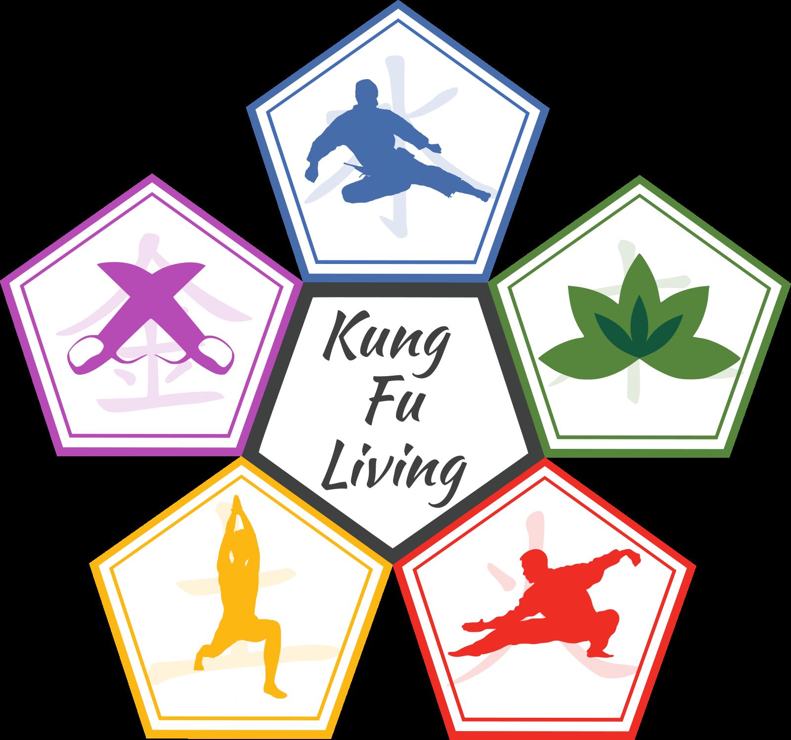 kung fu living logo - learn kung fu online