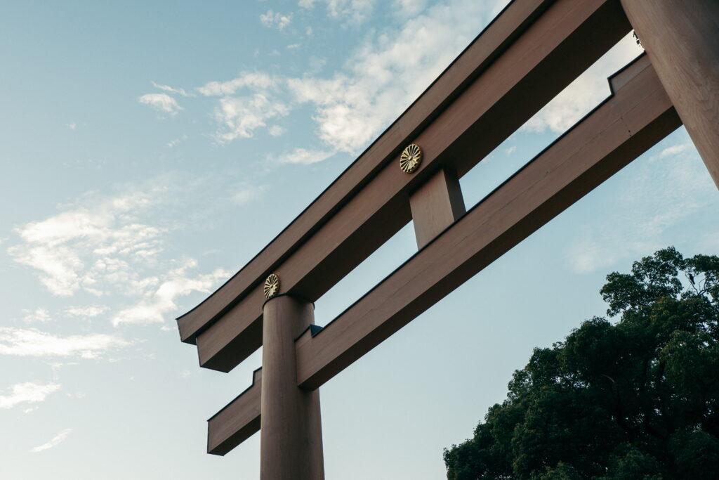 Torii Japanese Gate Shrine - learn kung fu online