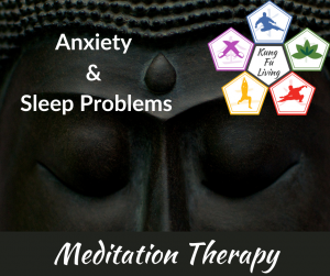 anxiety and sleep problems 10 day meditation therapy course
