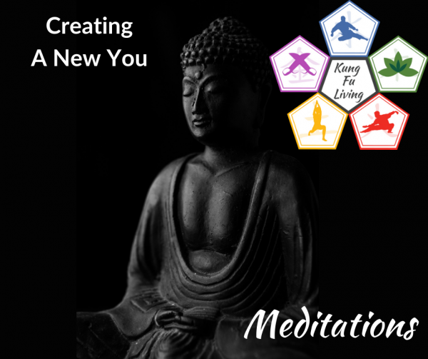 creating a new you meditation path section