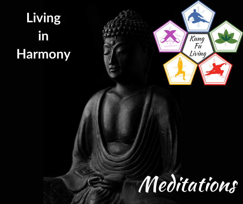 Living in harmony meditation path section