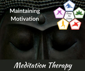 Maintaining motivation online meditation therapy course